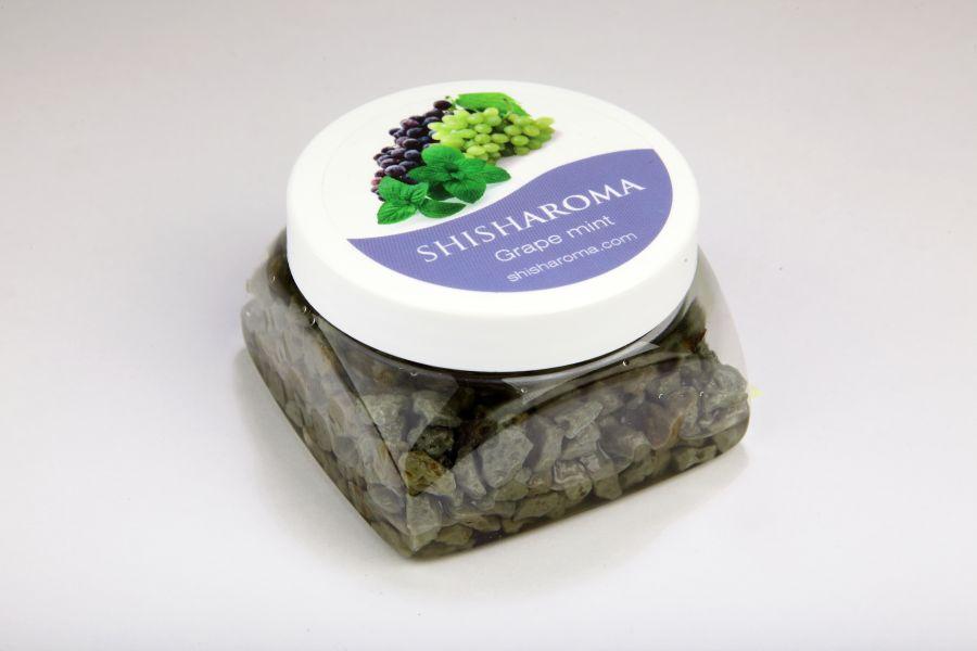 shisharoma vízipipa kő, melynek ízesítése szőlő és menta